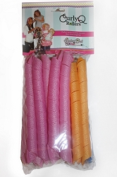 Curly Q Rollers - Extra Long & Narrow (NOT RECOMMENDED FOR DOLLS. For girls with hair down to middle of back)