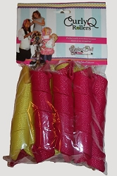 Curly Q Rollers - Long & Extra Wide (NOT RECOMMENDED FOR DOLLS. For girls with hair just past shoulders)
