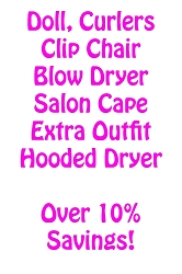 My Salon Doll Package Deal